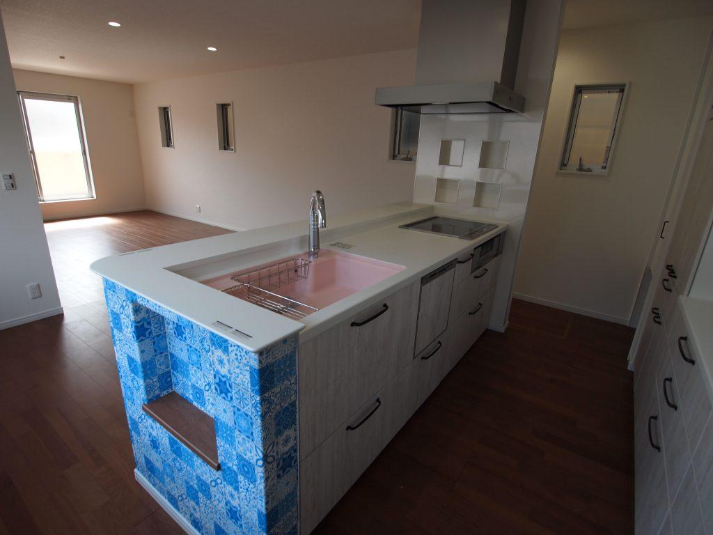アイランドキッチン ゴミ箱スペース ニッチ