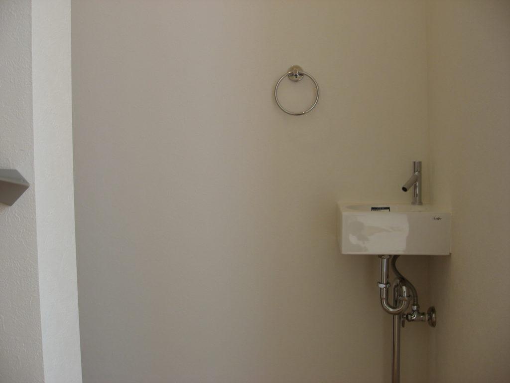 トイレ外手洗いお客様用