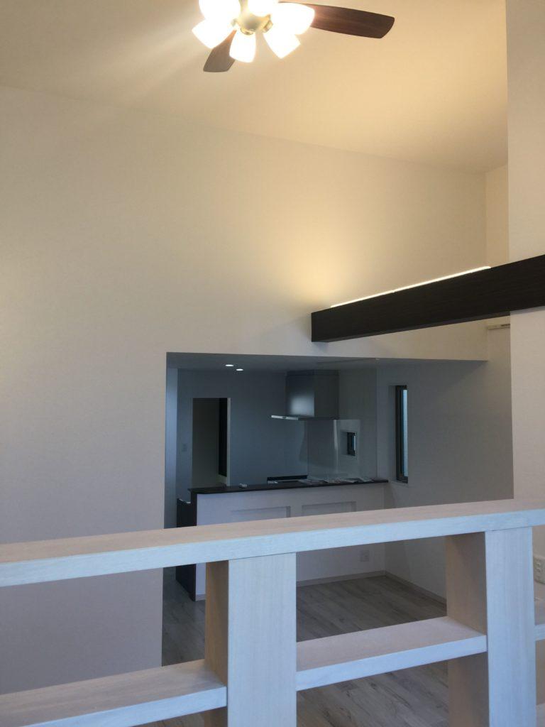 1階ロフト アッパー照明