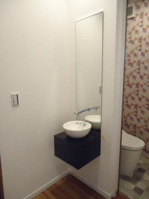 廊下 手洗い
