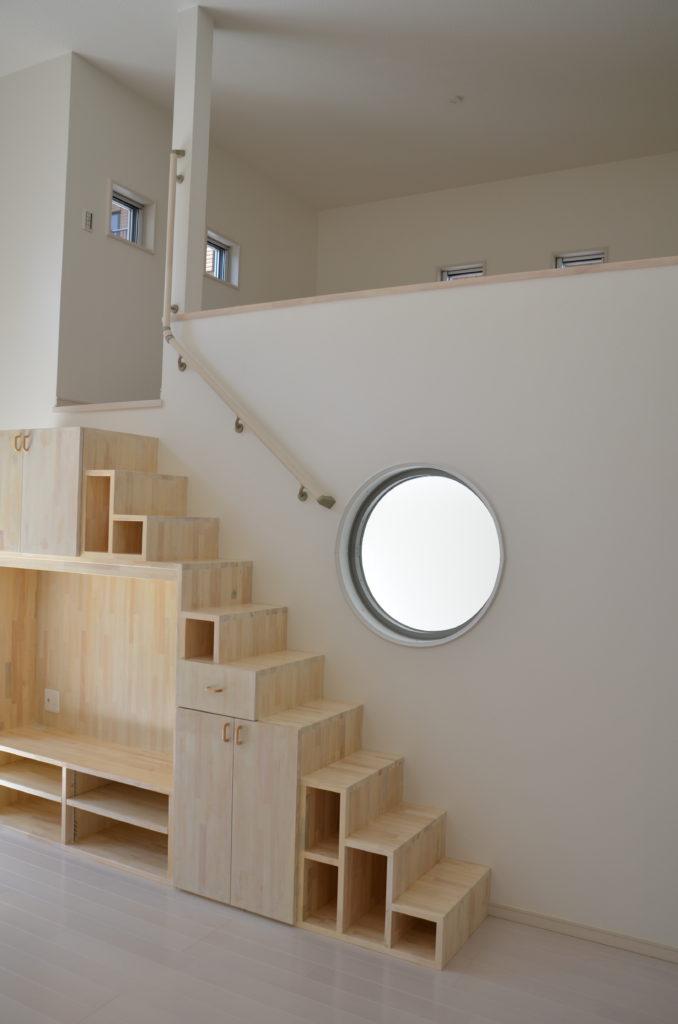 階段 収納 ロフト テレビラック