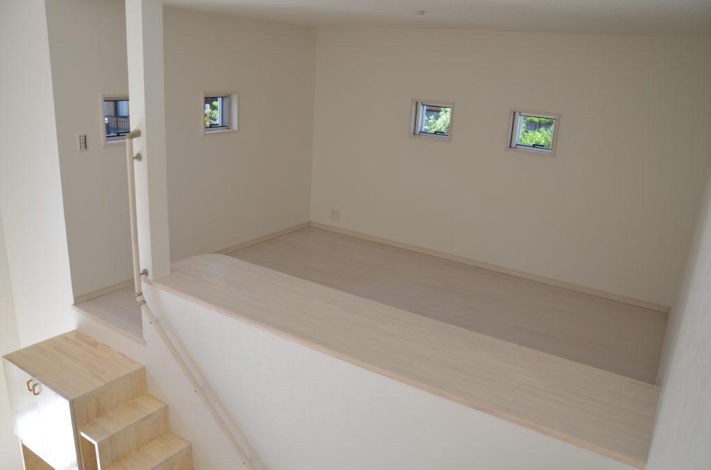 ロフト 階段